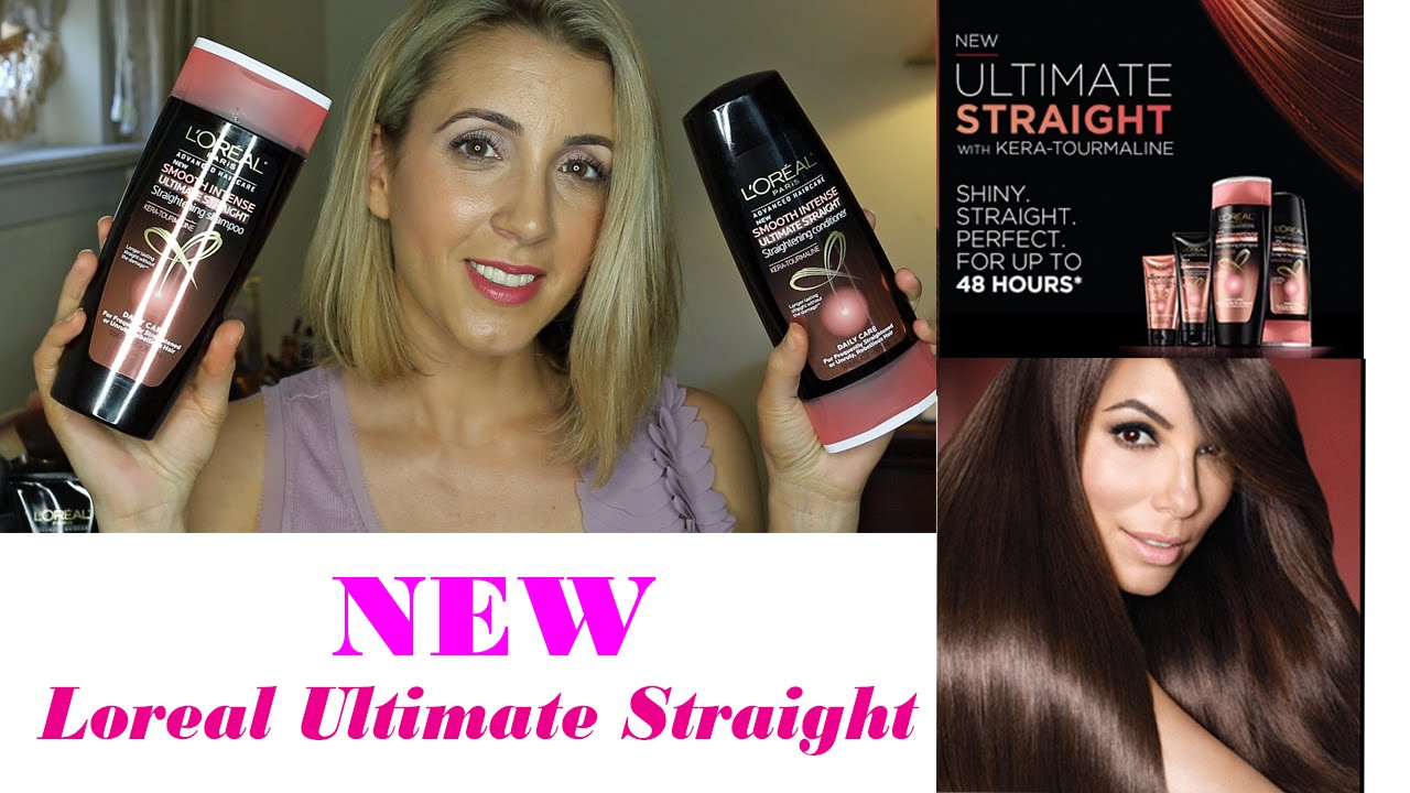Loreal Smooth Intense Ultimate Straight Review Youtube