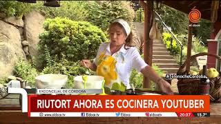 La ex concejal que ahora es cocinera youtuber.