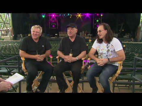 CNN Official Interview: Legendary rock band,  Rush