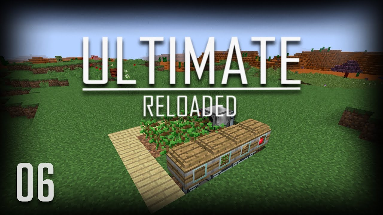 Fully Automatic Tree Farm Ftb Ultimate Reloaded Ep 6 Youtube