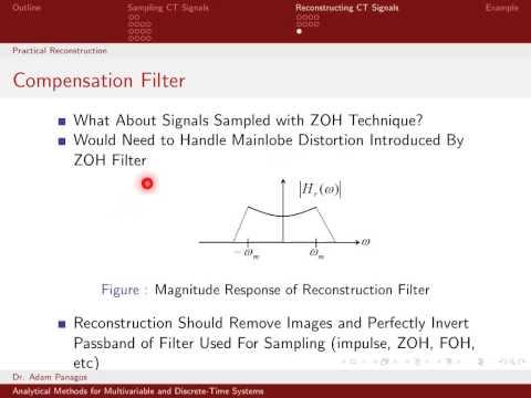 Sampling Signals (12/13) - Practical Reconstruction