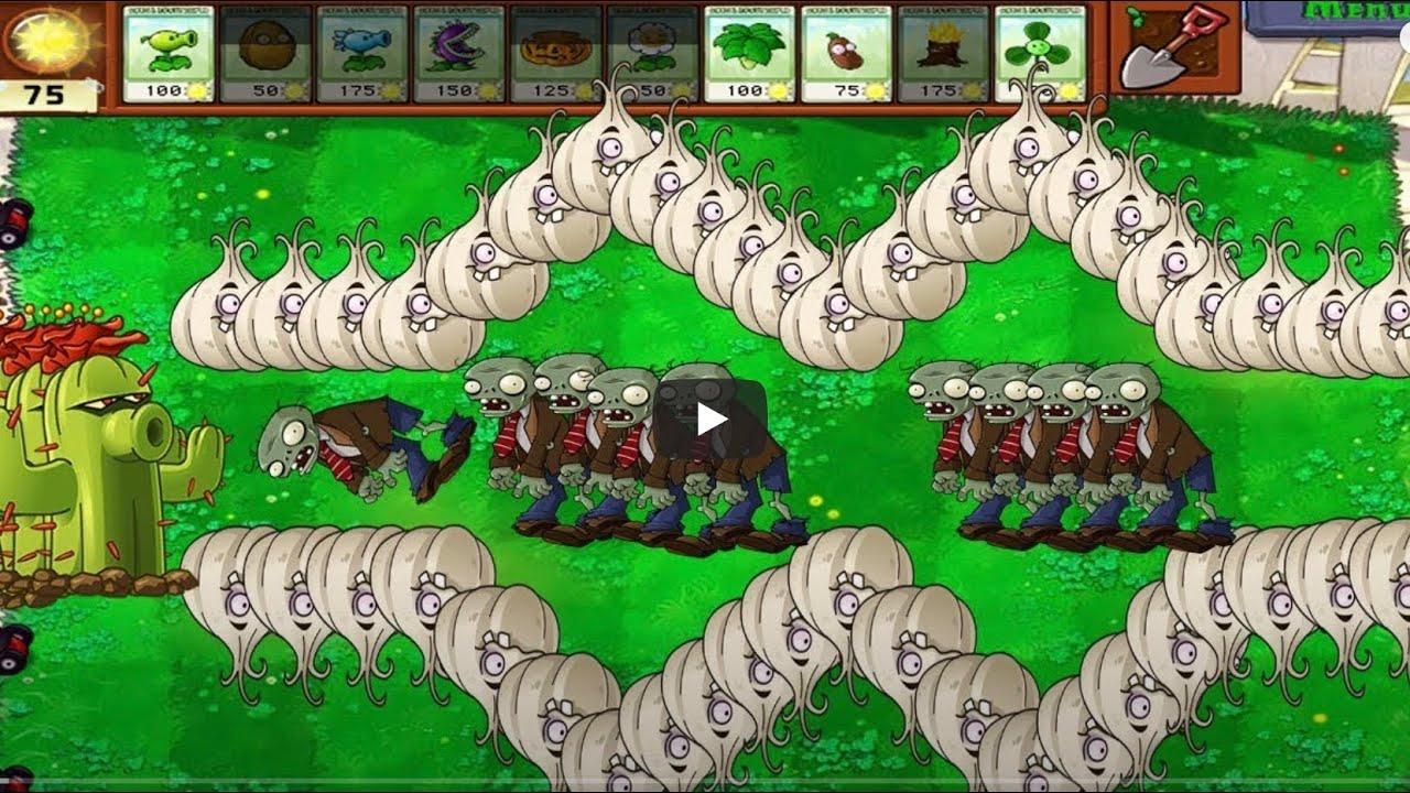 植物大战僵尸【999植物仙人掌vs僵尸】【植物大战僵尸黑客】【Hack】