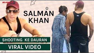 "Malta Mein  Shooting  Ke Dauran Viral Hua ""Salman Khan"" Ka Video | Bharat Movie | Viral Video"