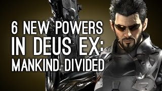 Gravelly cyborg Adam Jensen returns soon for Deus Ex Human Revolution sequel Deus Ex Mankind Divided says the trailer Its been two years since the