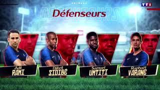 Liste des 23 de Didier Deschamps pour la Coupe du Monde 2018