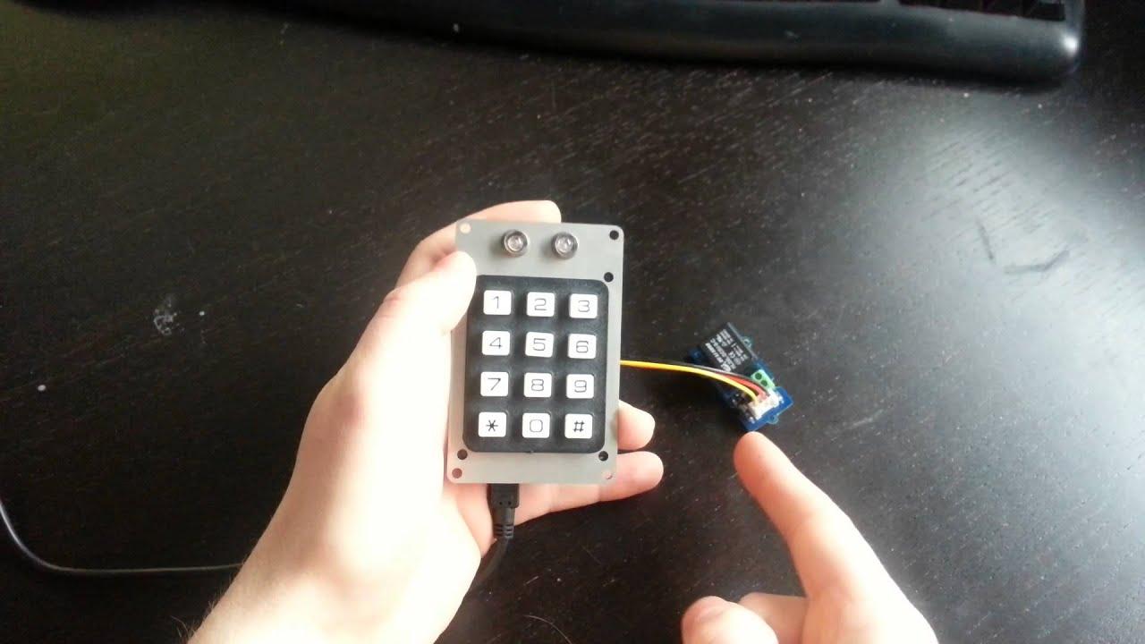 car keypad ignition lock youtube. Black Bedroom Furniture Sets. Home Design Ideas
