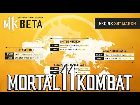 Official Beta Times Announced More Characters Incoming Mortal Kombat 11 thumbnail