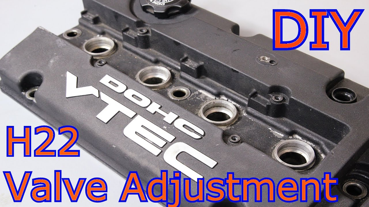 hight resolution of how to do a valve adjustment on your honda prelude h22 bb6