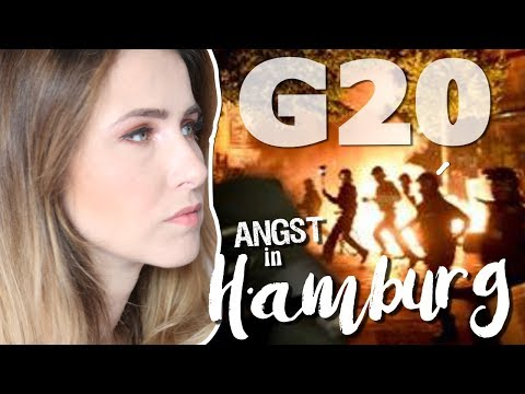 Angst beim G20 in Hamburg