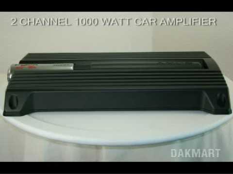 Sony Xplod Not Working Scooter Ignition Switch Wiring Diagram Xm-zr1852 2-channel 1000 Watt Car Amplifier - Xmzr1852 Youtube