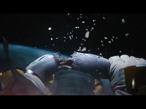 Оторвала себе руку в открытом космосе/ Netflix самый жуткий эпизод/ ЛЮБОВЬ,СМЕРТЬ И РОБОТЫ (2019)