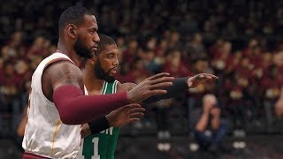 NBA Live 18: Celtics vs Cavs - 4th Quarter, Close Finish