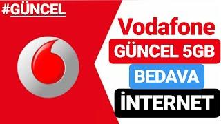Vodafone 5gb Bedava İnternet 2019 #güncel