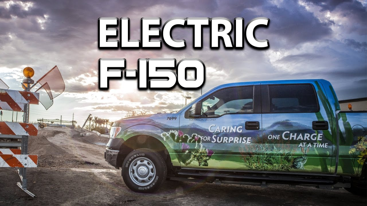 Electric Truck Conversion Pnp F150 By Torque Trends Inc Full Version You