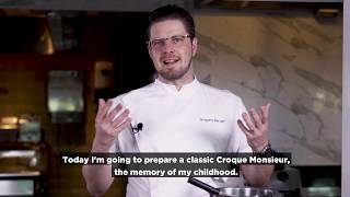 How to Make The Ultimate Croque Monsieur with Chef De Cuisine Gregoire | Atlantis, The Palm
