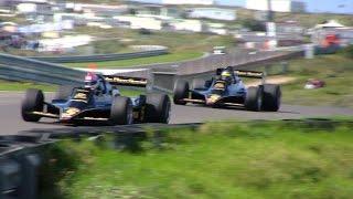 FIA Historic Formula One at Historic GP Zandvoort 2014 - Pure Classic F1 Sounds!
