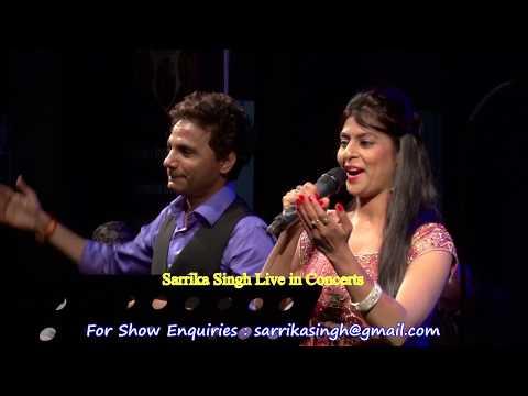 Chhup Gaye Sare Nazare | Sarrika Singh & Anil Bajpai | Do Raaste | Sarrika Singh Live