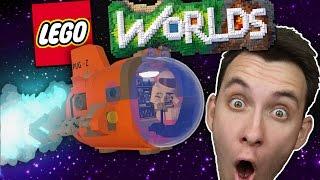 CESTOVÁNÍ LEGO VESMÍREM! | LEGO Worlds #1 | HouseBox