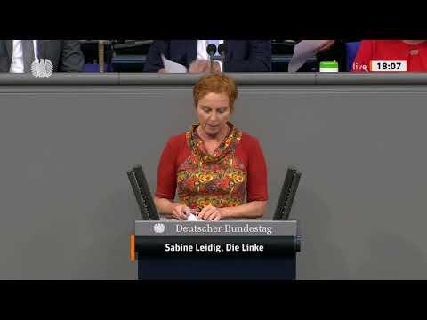 Rede von Sabine Leidig am 24. Juni 2021 im Deutschen Bundestag zum Thema Letzte Rede: Klimagerecht geht nur mit links und nicht mit CDU/CSU/FDP!