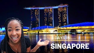 SINGAPORE TRAVEL VLOG: It's soooo perfect! Marina Bay + Universal Studios Santosa + The Jewel