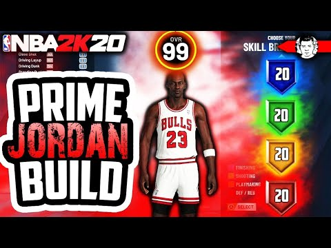 NBA 2K20 MICHAEL JORDAN BUILD | THE MOST OVERPOWERED DEMIGOD BUILD IN NBA 2K20
