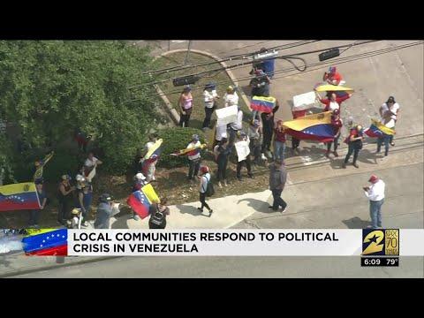 Local communities respond to political crisis in Venezuela