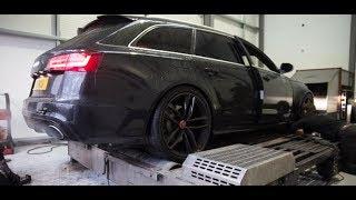 800BHP Audi RS6 Avant dyno run - Indigo GT - South Wales