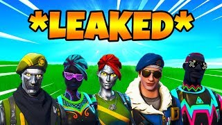 *LEAKED* UNRELEASED Skins Season 4 Fortnite! (Fortnite Battle Royale Season 4)