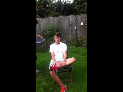 ALS ice bucket challenge with quality effects by James Houghton