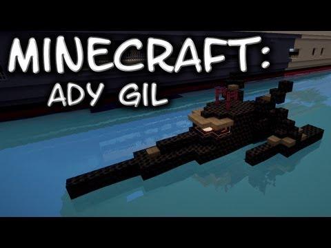 Minecraft: Ady Gil Trimaran Tutorial