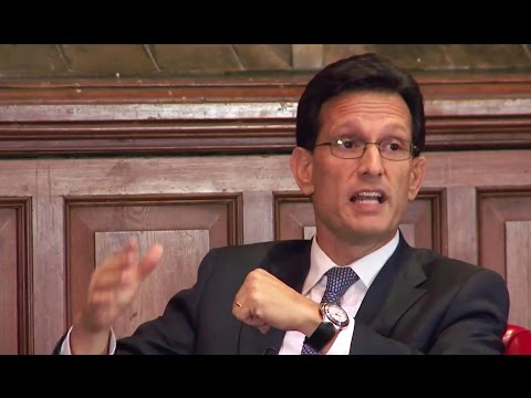 Eric Cantor - Full Q&A - Oxford Union