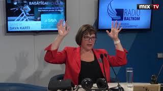 """Профессор ЛУ Сигне Балиня в программе """"Разворот"""" #MIXTV"""
