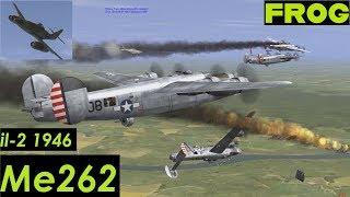 Me262 Vs B17G & B24J (IL-2 1946)