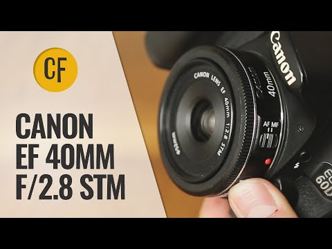 Canon EF 40mm f/2.8 STM lens review with samples (Full-frame and APS-C)