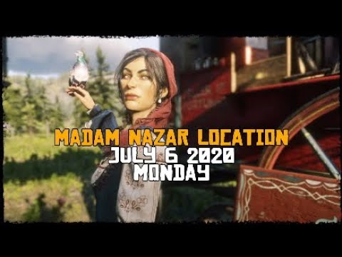 MADAM NAZAR LOCATION [JULY 6 2020] - RED DEAD ONLINE