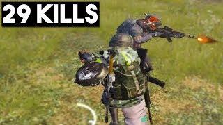 BEST PAN KILL EVER!   29 KILLS Duo vs Squad   PUBG Mobile