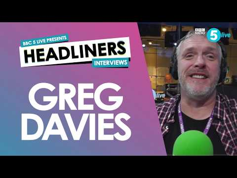 Greg Davies on stand-up, tour vans and why he HATES writing