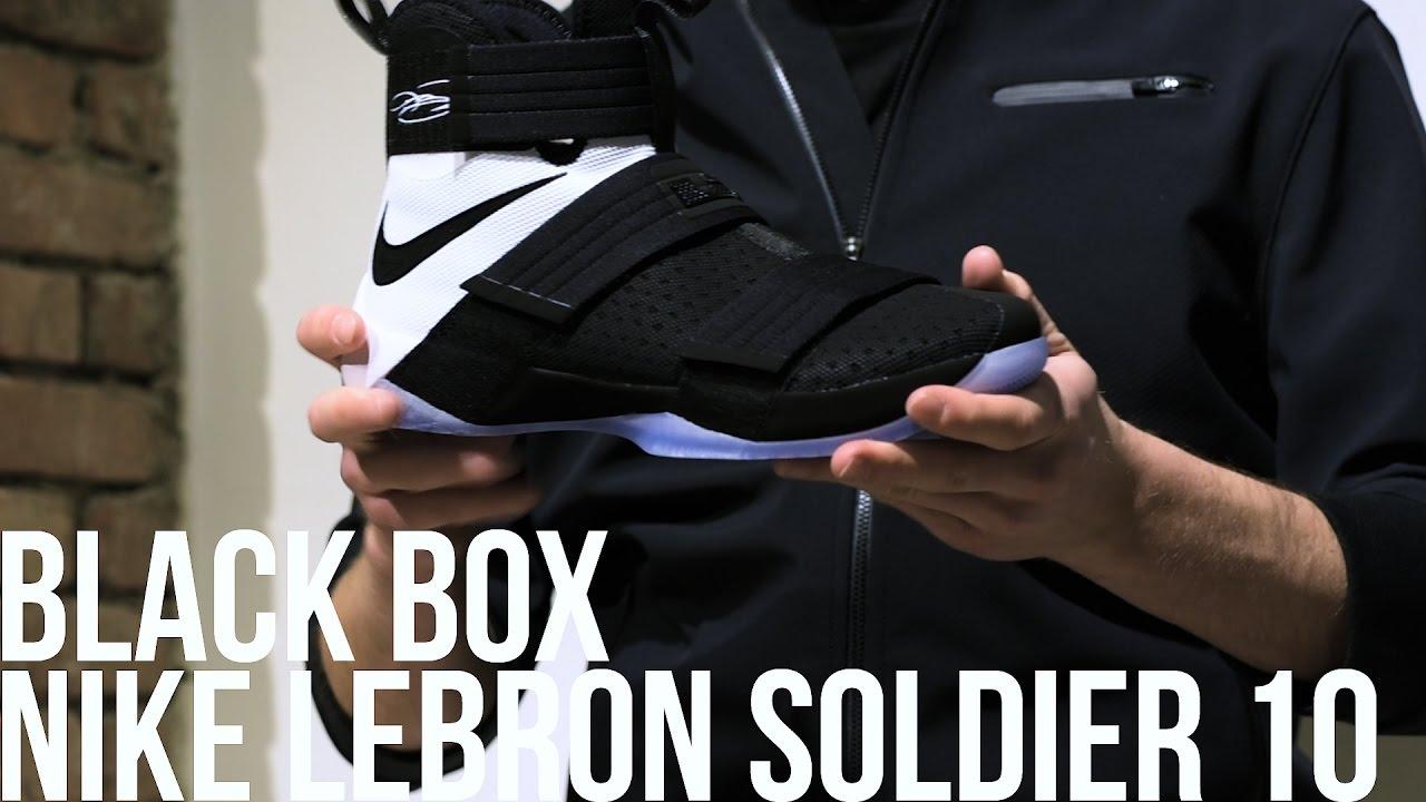 447c59998530d BLACK BOX  PRESENTAZIONE NIKE LEBRON SOLDIER 10 - YouTube