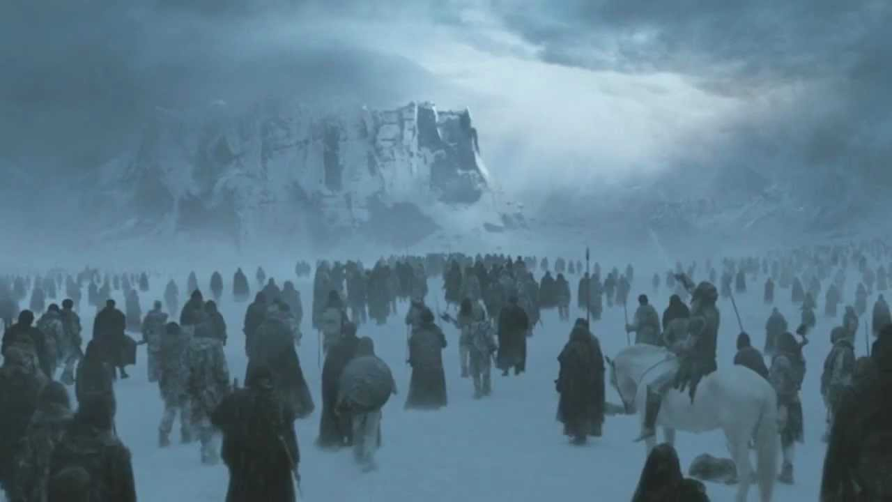 game of thrones 2x10 white walkers wights and samwell tarly hd