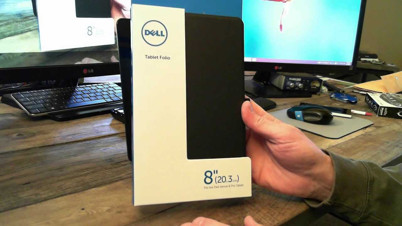 The Dell Venue 8 Pro Tablet Portfolio Case
