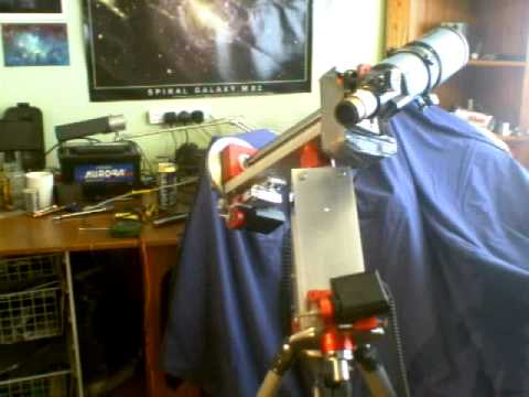 Diy equatorial telescope mount