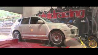 VRTuned Porsche Cayenne 957 Turbo ECU Flash Dyno and Drive
