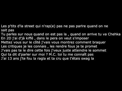 O.R. - Qui t'a dit (paroles/lyrics)