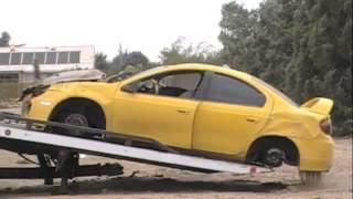 Car Into Pole In Hesperia California