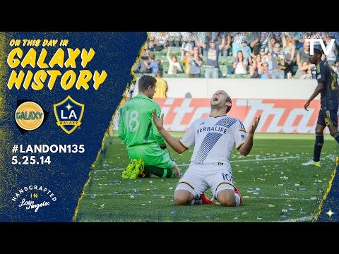 Landon Donovan broke the all-time goal scoring record in MLS | May 25th, 2014