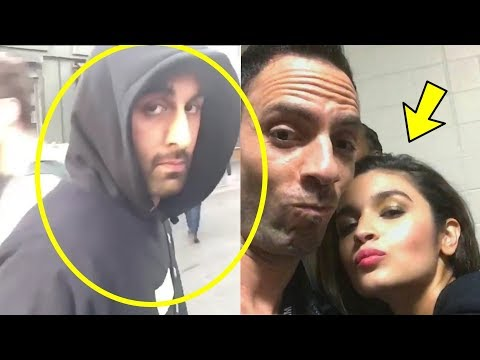 Omg ! Ranbir Kapoor Got Angry And Breaks Phone When Gf Alia Bhatt Flirts With Other Boys !Checkout