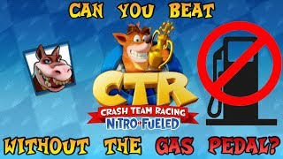 VG Myths - Can You Beat Crash Team Racing Without The Gas Pedal?