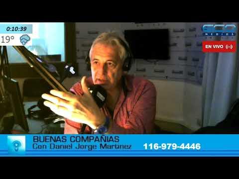 BUENAS COMPANIAS con Daniel Martinez 15-5-2018