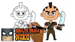 How to Draw Niko | Niko and the Sword of Light (Art Tutorial)