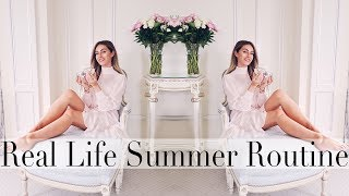 REAL LIFE SUMMER BEAUTY ROUTINE | Lydia Elise Millen